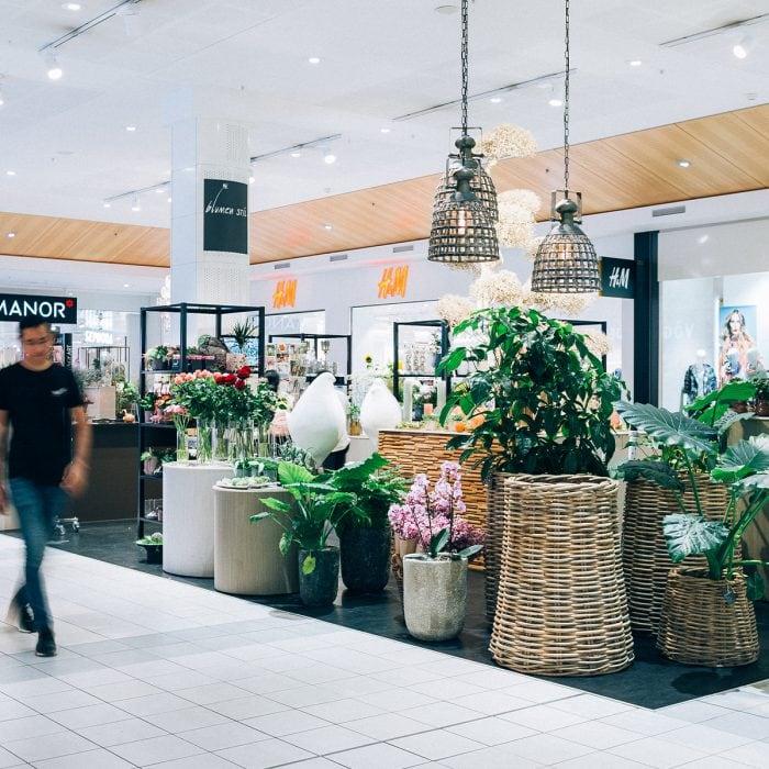 Aussenansicht von Blumen Stil im Emmen Center