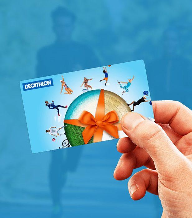 Geschenkkarte von Decathlon