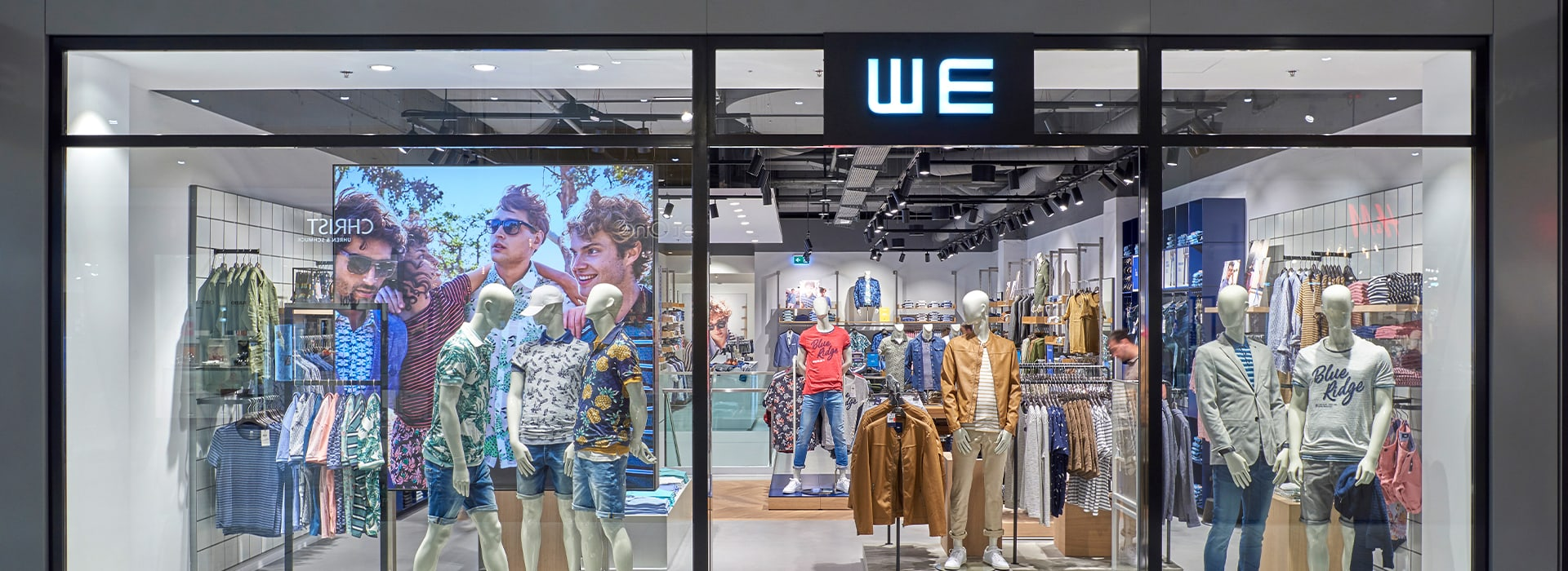 Shopfront von WE Fashion im Emmen Center