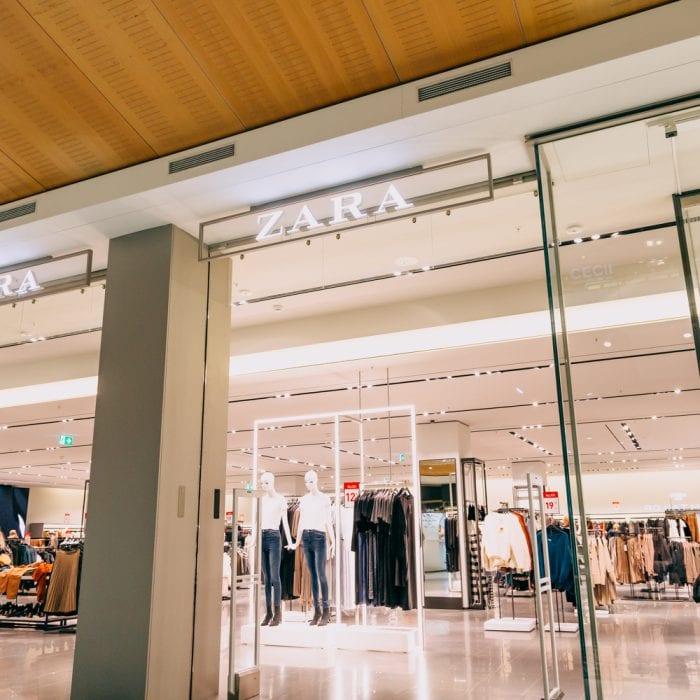Shopfront von Zara im Emmen Center
