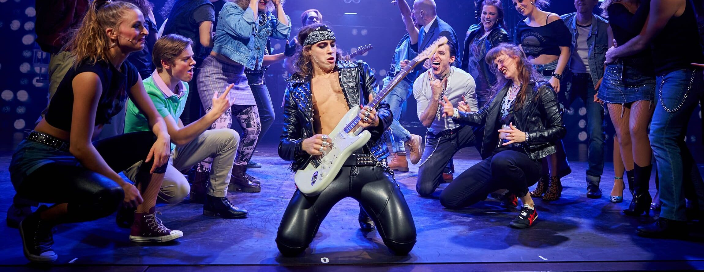Musicalaufführung Rock of Ages vom Le Théâtre Emmen